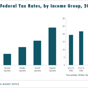 Federal Taxes Paid by Income